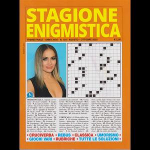 Stagione Enigmistica - n. 103 - trimestrale - agosto - ottobre 2020 -