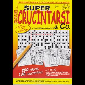 Supercrucintarsi  & Co. n. 39 - febbraio - marzo 2019 - bimestrale- 200 pagine - 130 crucintarsi