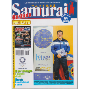 Samurai - Bushido - Pugilato - n. 8 - luglio - agosto 2020 - 64 pagine