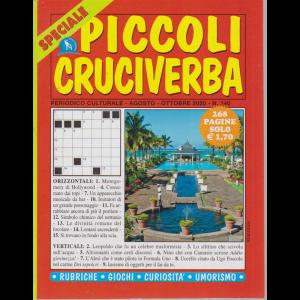 Speciale Piccoli Cruciverba - n. 140 - agosto - ottobre 2020 - 268 pagine