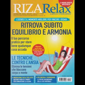 Riza Relax - Ritrova subito equilibrio e armonia - n. 6 - luglio - agosto 2020 - bimestrale