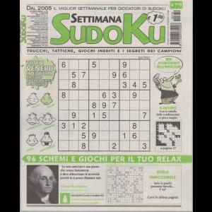 Settimana Sudoku - n. 779 - settimanale - 17 luglio 2020 -