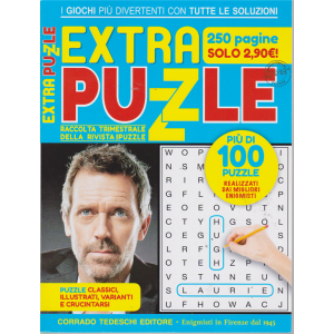 Extra Puzzle - n. 4 - febbraio - aprile 2019 - trimestrale - 250 pagine! - più di 100 puzzle