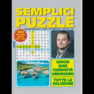 Semplici Puzzle - n. 98 - bimestrale - agosto - settembre 2020 - 100 pagine