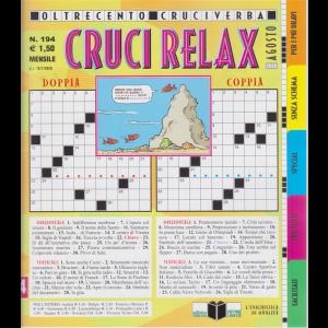 Cruci Relax - n. 194 - mensile - 15/7/2020 -