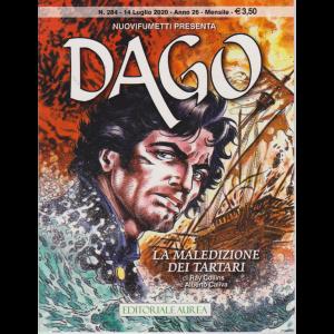 Nuovifumetti Dago - n. 284 - La maledizione dei tartari - 14 luglio 2020 - mensile