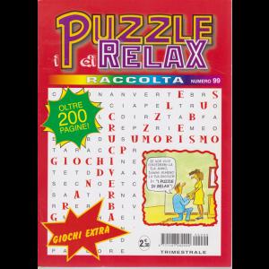 Raccolta I puzzle di Relax - n. 99 - trimestrale - luglio - settembre 2020 - oltre 200 pagine!