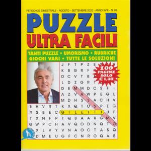 Puzzle  Ultra  Facili - n. 95 - bimestrale - agosto - settembre 2020 - 100 pagine