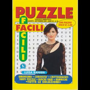 Puzzle Facili Facili - n. 39 - Luisa Ranieri - bimestrale - agosto - settembre 2020 - 196 pagine
