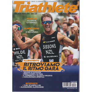 Triathlete - n. 264 - luglio - agosto 2020 - bimestrale