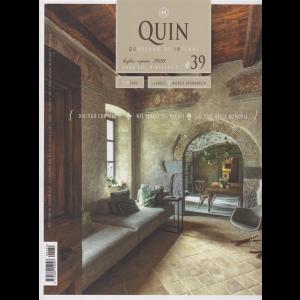 Quin - Quaderno di Interni - n. 39 - luglio - agosto 2020 - bimestrale -