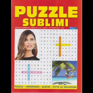 Puzzle sublimi - n. 65 - bimestrale - agosto - settembre 2020