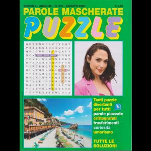 Parole Mascherate puzzle - n. 472 - agosto 2020 - mensile
