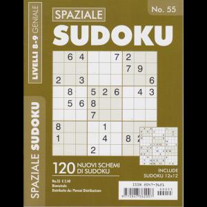 Spaziale Sudoku - n. 55 - bimestrale - livelli 8-9 geniale
