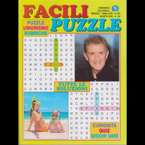 Facili Puzzle - n. 281 - mensile - agosto 2020 -
