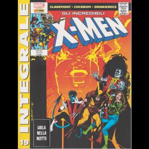 Marvel Integrale -Gli incredibili X-man - Urla nella notte - n. 19 - mensile - 16 luglio 2020