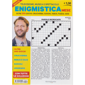 Enigmistica Mese - n. 22 - mensile - agosto 2020 -