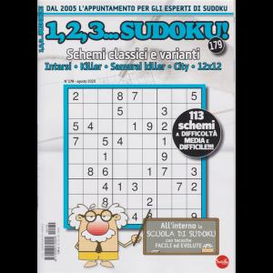 1,2,3 Sudoku! - n. 179 - agosto 2020 - mensile -
