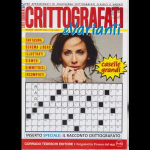 Crittografati & Varianti - n. 16 - mensile - 16/7/2020 - caselle grandi