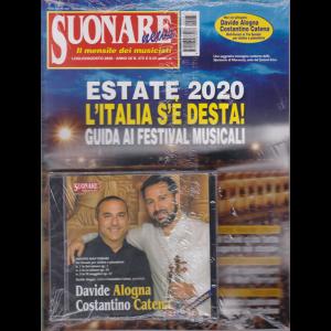Suonare News - n. 273 - luglio - agosto 2020 - mensile + cd Davide Alogna Costantino Catena