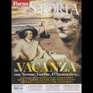 Focus Storia + Focus Storia  Viaggi nel tempo - Matera - n. 166 - agosto 2020 - 2 riviste