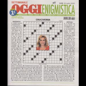 Settimanale Oggi Enigmistica - n. 30 - 28 luglio 2020