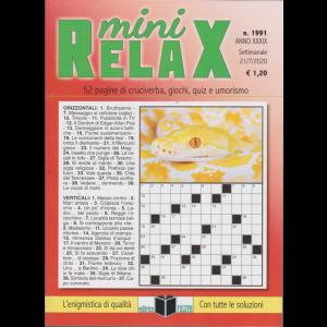 Mini Relax - n. 1991 - settimanale - 21/7/2020