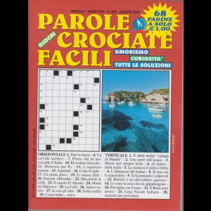 Parole crociate facili - n. 262 - mensile - agosto 2020 - 68 pagine