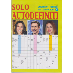 Solo Autodefiniti - n. 292 - mensile - agosto 2020