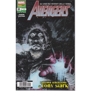 Avengers - Avengers N. 21 / 125 - L'ultima tentazione di Tony Stark - mensile - 16 luglio 2020