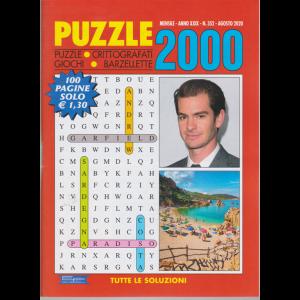 Puzzle 2000 - n. 352 - mensile - agosto 2020 - 100 pagine