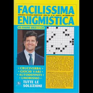 Facilissima Enigmistica - n. 80 - bimestrale - agosto - settembre 2020 - 68 pagine