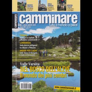 Camminare - n. 83 - bimestrale -luglio - agosto 2020