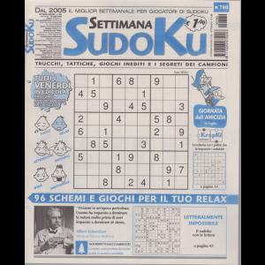 Settimana Sudoku - n. 780 - settimanale - 24 luglio 2020
