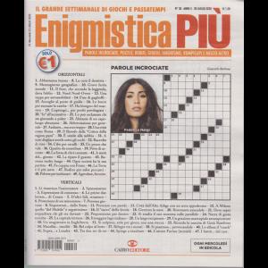 Enigmistica Piu' - n. 30 - 28 luglio 2020 - settimanale