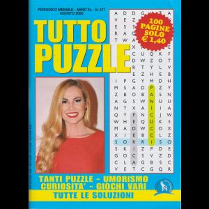 Tutto Puzzle - n. 471 - mensile-  agosto 2020 - 100 pagine