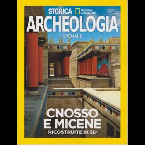 Storica Speciale Archeologia - Cnosso e Micene ricostruite in 3D - National Geographic - agosto 2020 - bimestrale -
