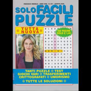 Solo Facili Puzzle - n. 201 - mensile - agosto 2020 - 100 pagine