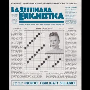 La Settimana Enigmistica - n. 4609 - 23/7/2020 - settimanale