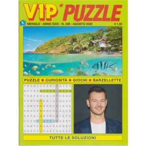 Vip Puzzle - n. 339 - mensile - agosto 2020