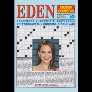 Eden - Paradiso enigmistico - n. 365 - mensile - agosto 2020 -