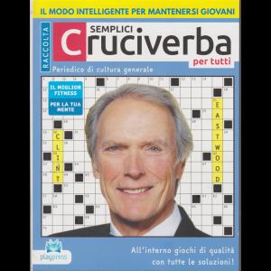 Raccolta Semplici cruciverba per tutti  - n. 37 - Clint Eastwood - bimestrale - 4/7/2020 -