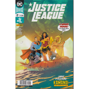 Justice League - n. 2 - mensile - 23 luglio 2020