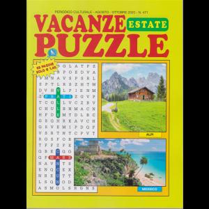 Vacanze Puzzle estate - n. 471 - agosto - ottobre 2020 - 68 pagine