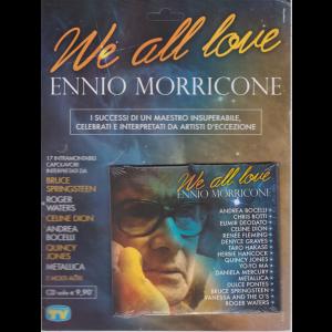 Cd Sorrisi Collezione 2 - n. 85 - We all love - Ennio Morricone - 24/7/2020 - settimanale