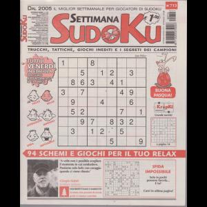 Settimana Sudoku - n. 713 - settimanale - 12 aprile 2019