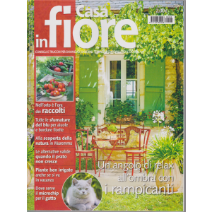 Casa In Fiore - n. 8 - agosto 2020 - mensile