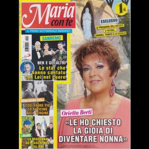 Maria Con Te - n. 7 - 17 febbraio 2019 - settimanale