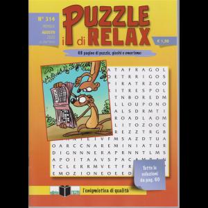 I Puzzle di Relax - n. 314 - mensile - agosto 2020 -