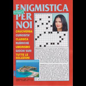 Enigmistica per noi - n. 102 - trimestrale - agosto - ottobre 2020 - 100 pagine
